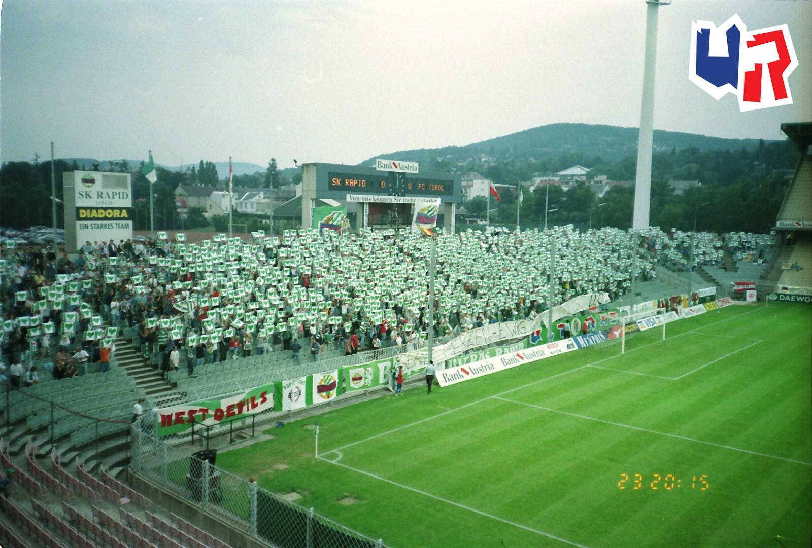 Sk Rapid Wien Fc Wacker Innsbruck Ultras Rapid