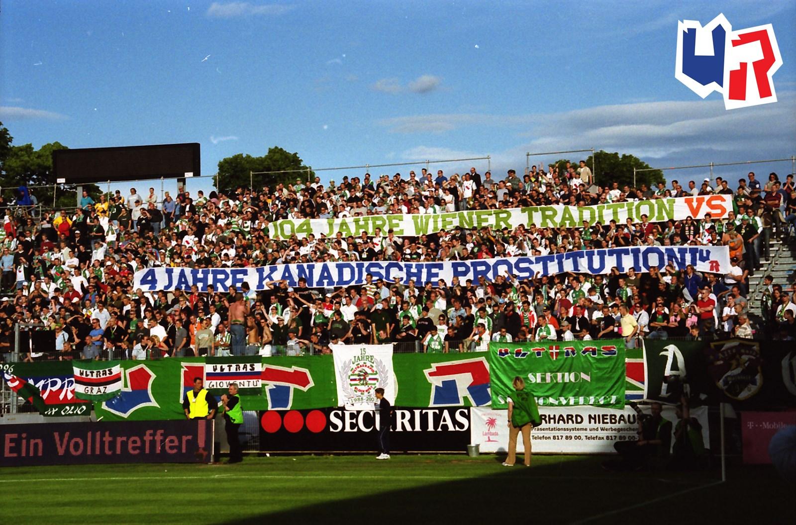 Fk Austria Wien Sk Rapid Wien Ultras Rapid