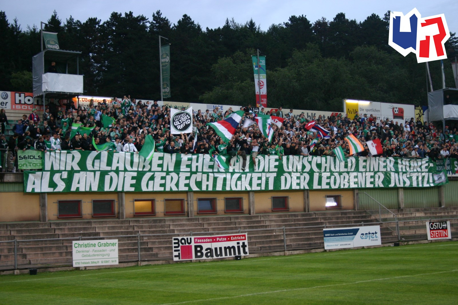 Dsv Leoben Sk Rapid Wien Ultras Rapid