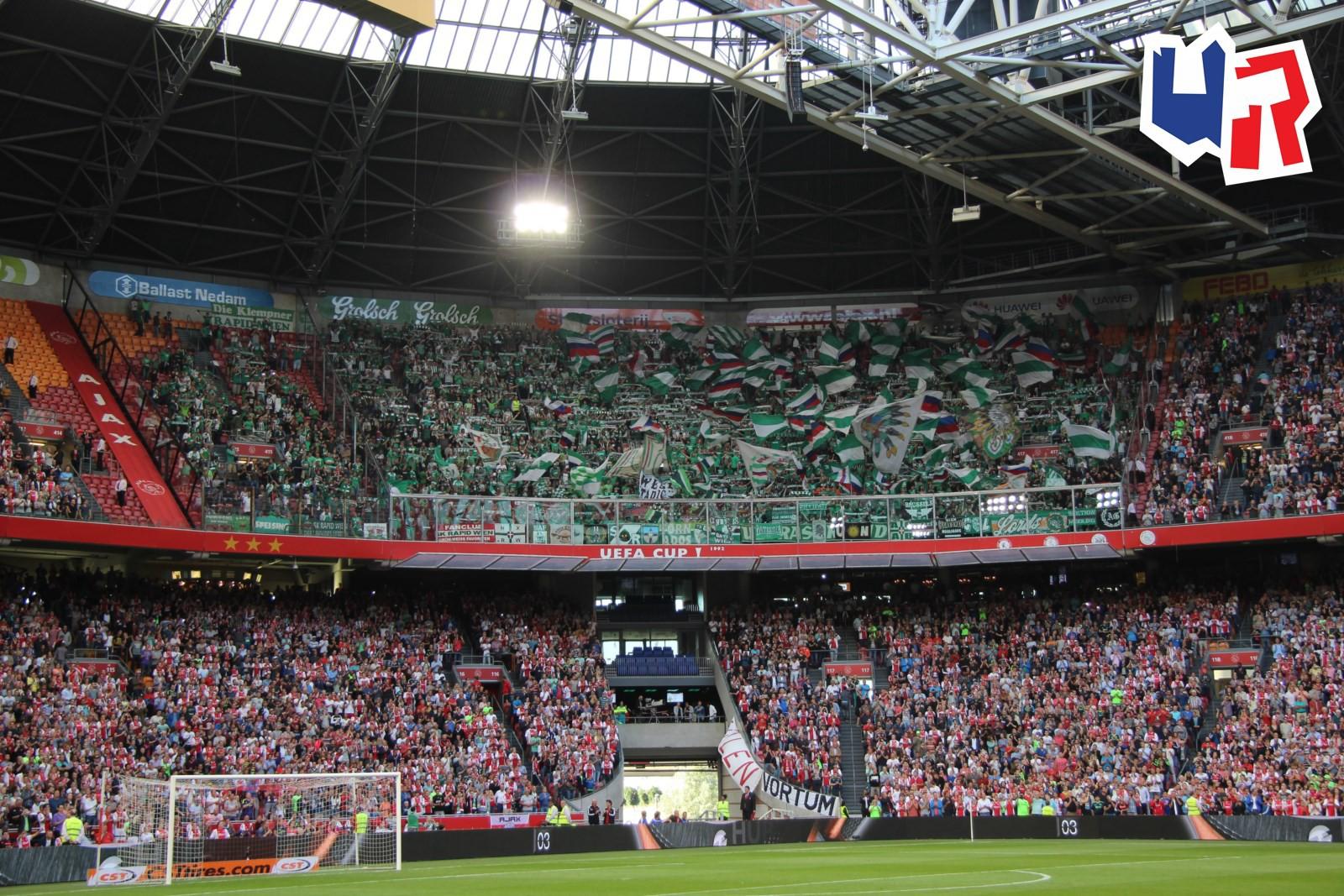 Ajax Amsterdam Sk Rapid Wien Ultras Rapid