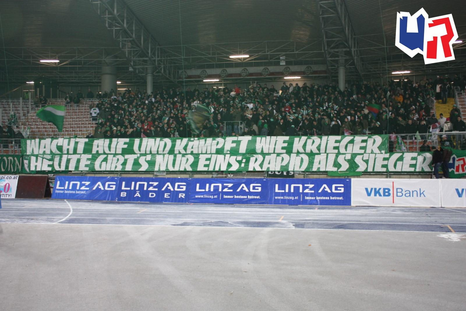 Fc Blau Weiß Linz Sk Rapid Wien Ultras Rapid