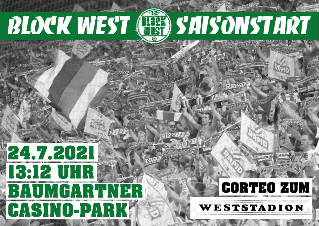 Flyer Block West Saisonstart
