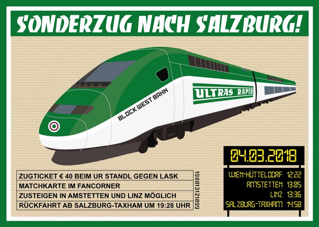 Sonderzug nach Salzburg